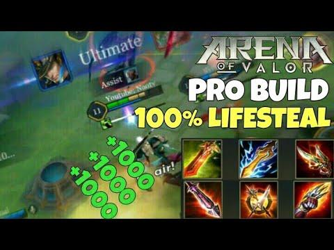 Arena Of Valor Insane Valhein Lifesteal Build Best Jungle Guide