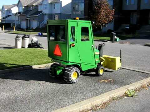 John Deere X300 Homemade Cab Youtube