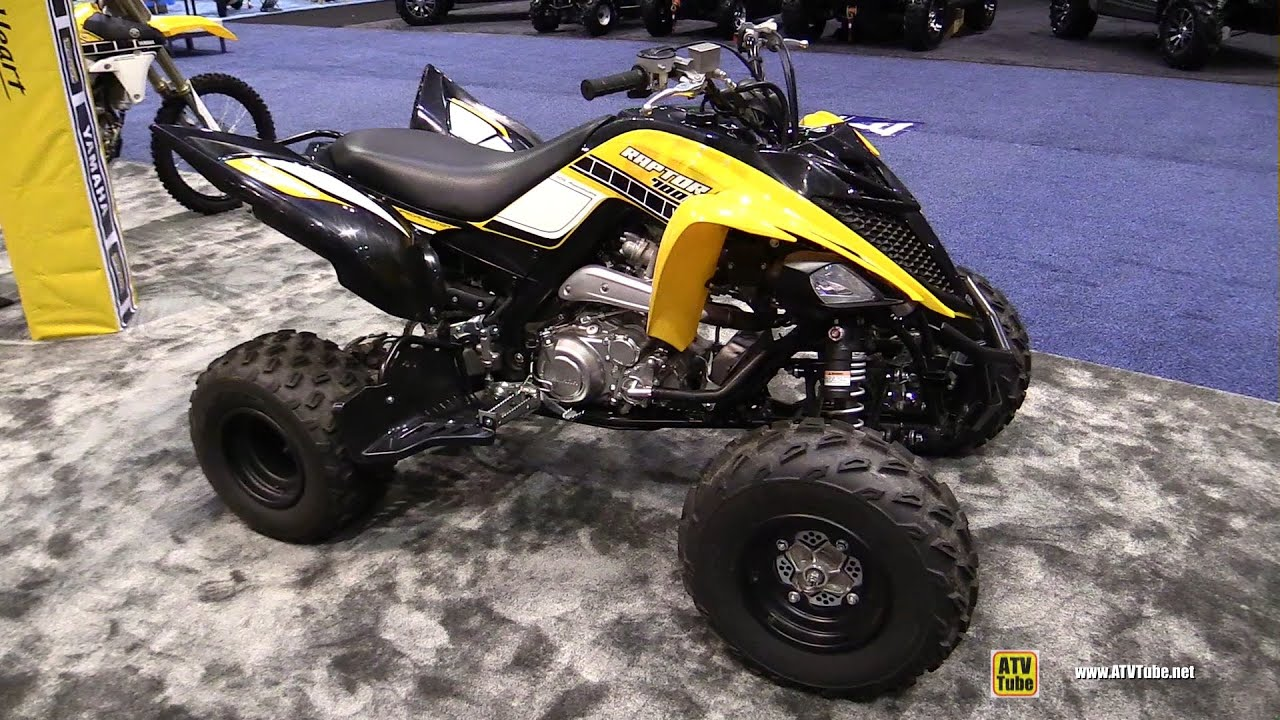 2016 Yamaha Raptor 700r 60th Anniversary Sport Atv Walkaround Debut
