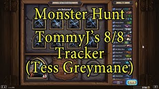 Hearthstone: The Witchwood Tracker Monster Hunt (Tess Greymane)