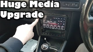 Installing a Android Media Headunit - In the Volkswagen Golf Project Shed