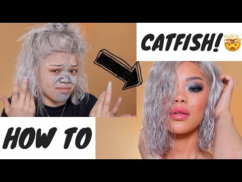 HOW TO CATFISH 101 | WET HAIR LOOK, SMOKEY GLAM, FEELING LOST IN YOUR 20'S