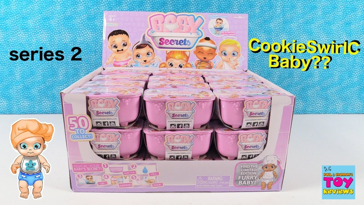 Baby Secrets Series 2 Full Set Opening Limited Edition Baby Toy Review Pstoyreviews Youtube