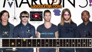Maroon 5 Moves Like Jagger Bass Lesson