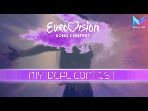EUROVISION 2018 – MY IDEAL CONTEST