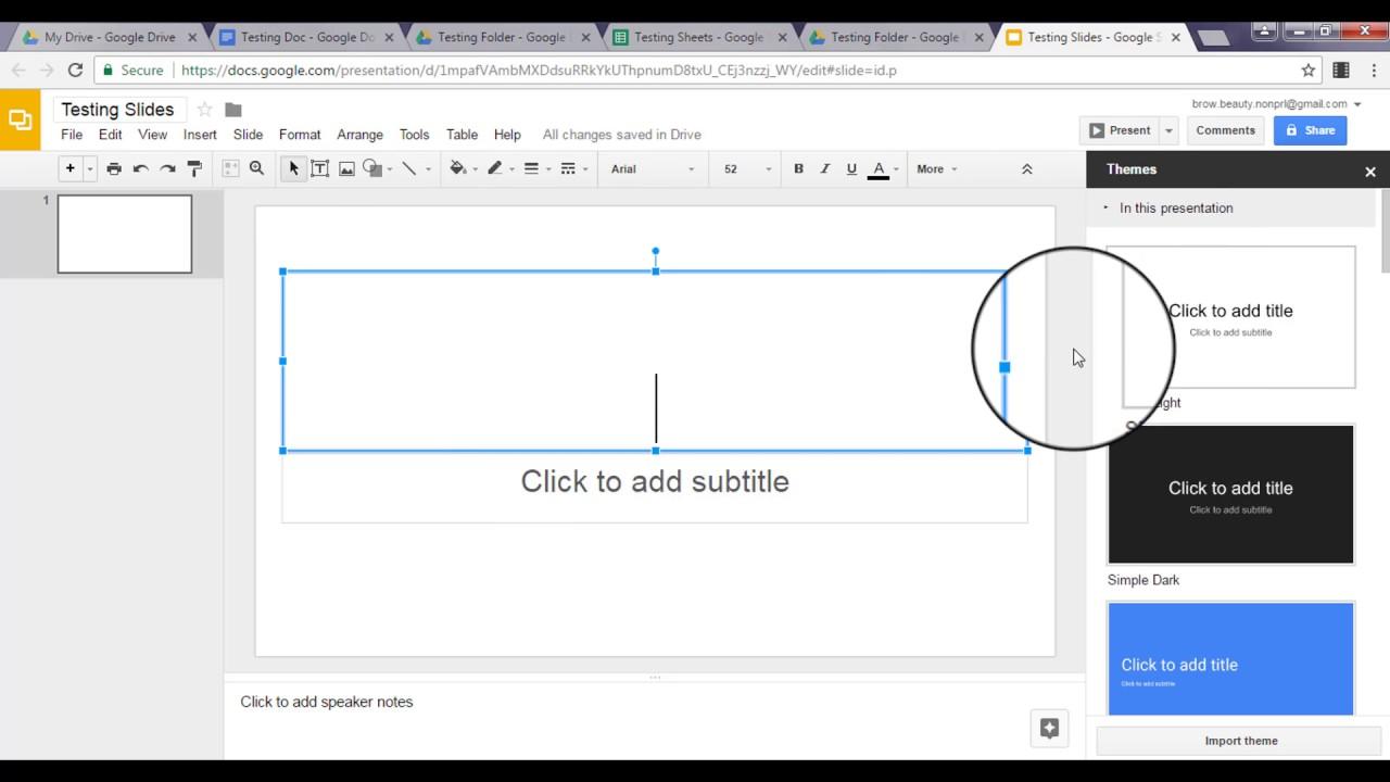 Google Drive Collab Training Slides Module 3