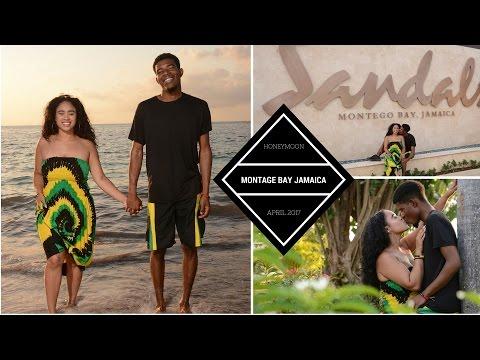 Honeymoon Vlog | Sandals Montego Bay | JAMAICA | The Hayes'