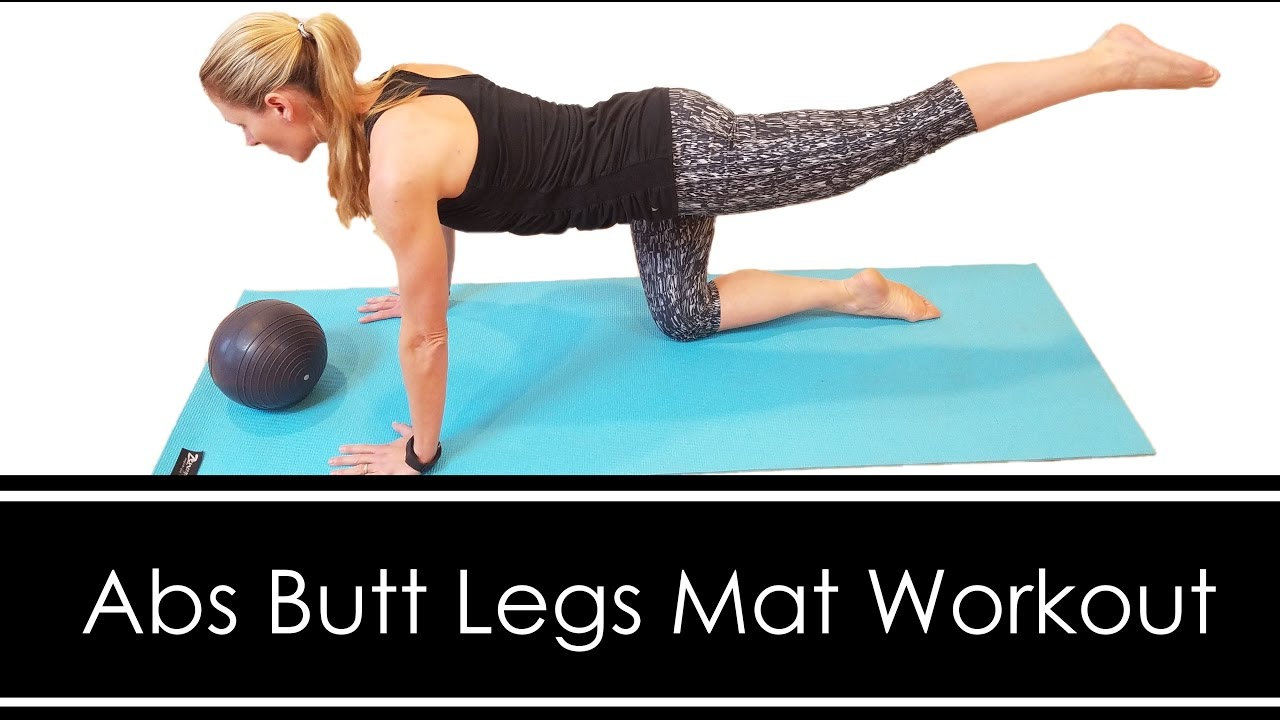 Abs Legs Mat Workout