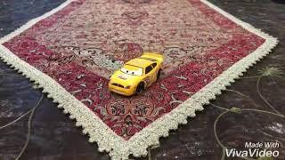 Disney Pixar Cars Diecast Brush Curber (Fiber Fuel Racer Number 56)