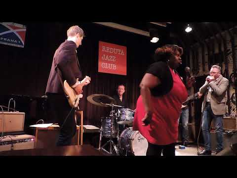 Diunna Greenleaf & Marcel Flemr band,Blues Prague 14.11.17 ( If you want me to stay)
