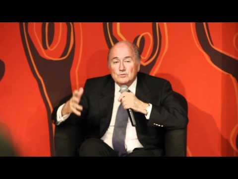 Sepp Blatter on anti-gay laws in Qatar (and why they don't matter)