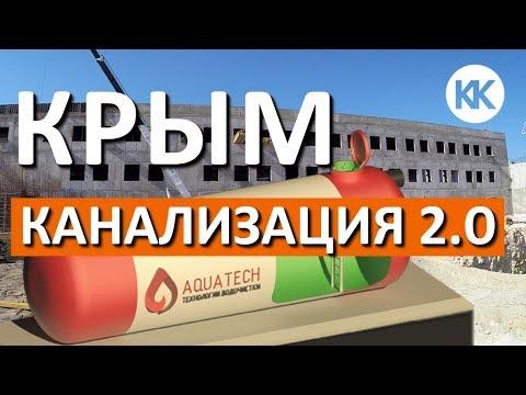 Проблемы канализации в Крыму. Очистные сооружения. Парк Победы и новая школа в Севастополе