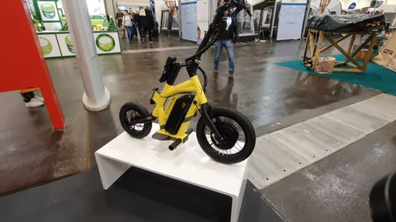 Steereon | Ein verblüffender E-Scooter | #carvingonthestreet | Reise + Camping 2020 Essen