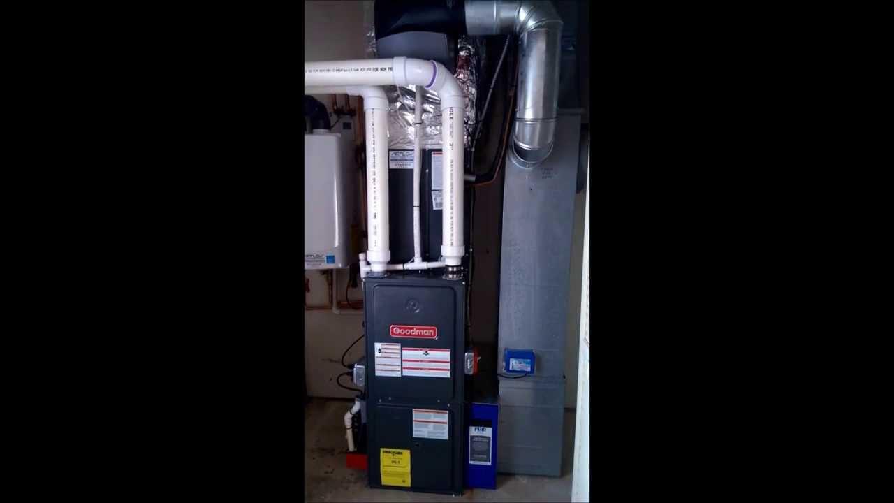 Nj Airflow Llc Goodman Furnace 96 1 High Efficiency 3 Ton