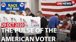 Decoding The American Voter's Agenda | Race For The White House With Maha Siddiqui | CNN News18