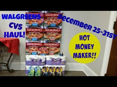 Coupon Deal Haul Walgreens Cvs Moneymaker Razors Cheap Pizza