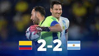Колумбия  2-2  Аргентина видео