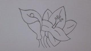 Como desenhar flores