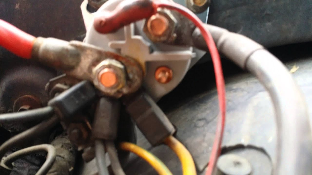 87 Lincoln Town Car Starter Relay  YouTube
