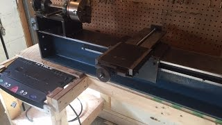 home made lathe part 5