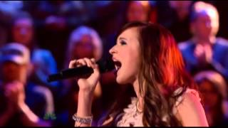 Savannah Berry - Little white church - The Voice Battle Round (Lyric)