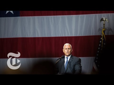 Donald Trump Chooses Mike Pence as V.P. | The New York Times