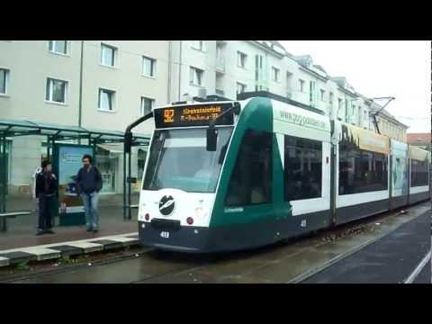 Trams of Potsdam, Germany