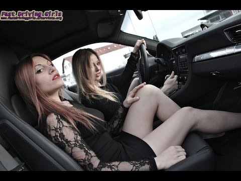 girls Hot with cars naked porsche