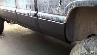Rhino Bedliner on Lower Body of Dodge Ram