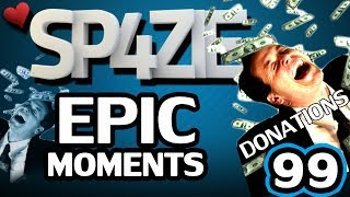 Repeat youtube video ♥ Epic Moments - #99 DONATIONS