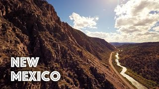 New Mexico by Drone in 4K