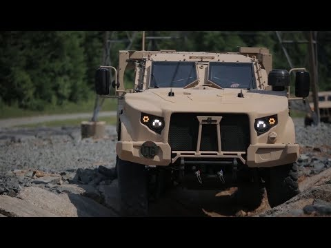 Humvee Replacement arrives at Marine Corps Base Quantico - Oshkosh Joint Light Tactical Vehicle
