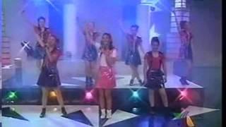 """Barbie Girl"" (Aqua) letras. Gloria Aura. PaulinaAlvarez AlejandraLazcano (TV Azteca) clase de baila"