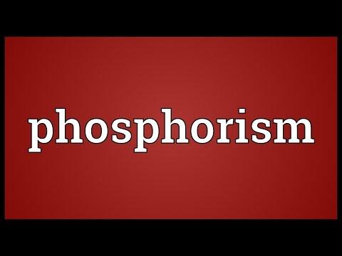 Header of phosphorism