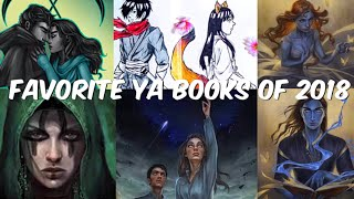 FAVORITE BOOKS OF 2018   YOUNG ADULT