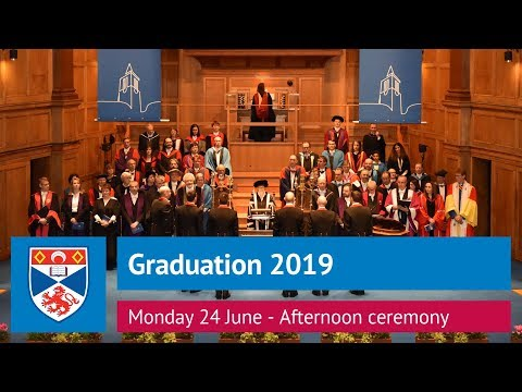 University of St Andrews Graduation, Monday 24 June 2019 - Afternoon Ceremony