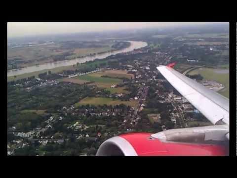 Birdstrike on Flight AB 3222 from FMO to AYT