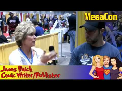 Comic Writer and Publisher James Haick interview on the Hangin With Web Show