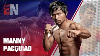 Watch Manny Pacquiao Son In The Ring!