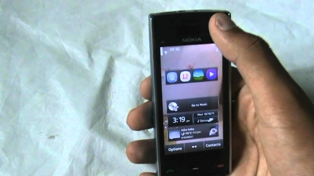 symbian anna v 7 5 on nokia x6 5800 5530 5230 youtube rh youtube com Nokia 5210 Nokia 5580