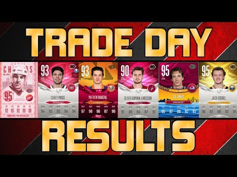 RESULTS! - INSANE Trade Day Part 2 - NHL 18