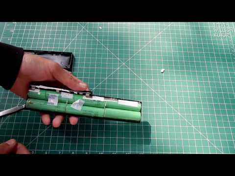How to open Laptop Battery without destroying it | How to get 18650 Battery from laptop battery