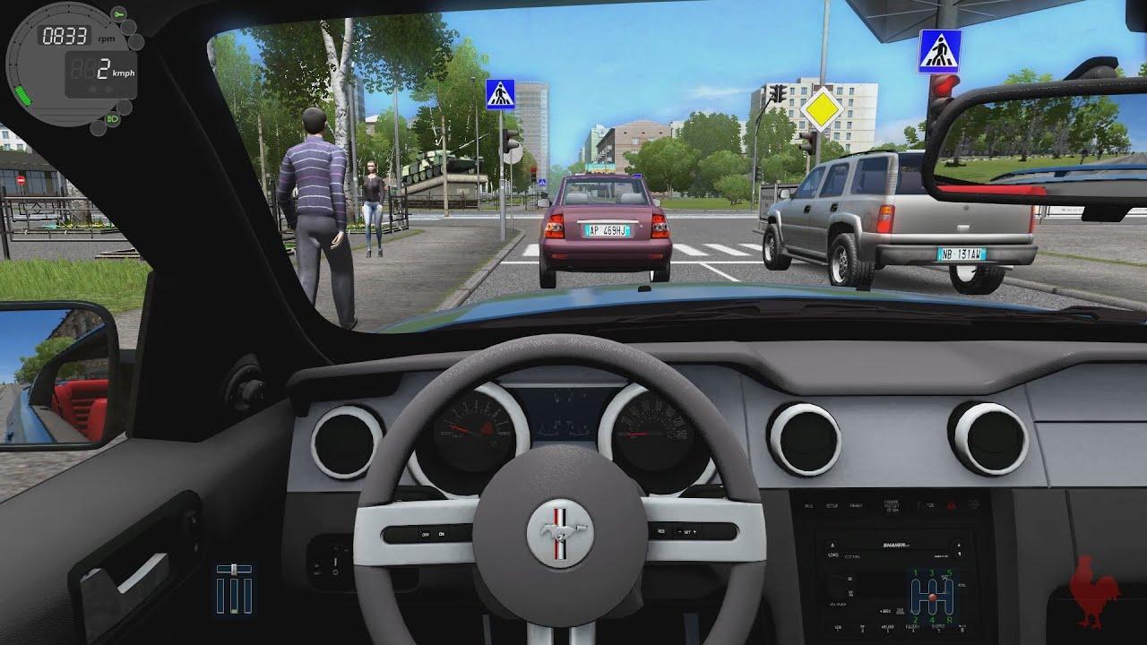 & City Car Driving - Ford Mustang GT - YouTube markmcfarlin.com