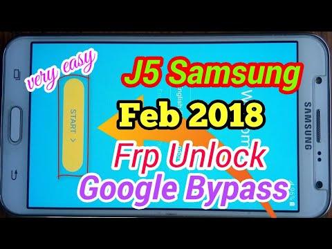 Samsung SM J500F ,FN, G, Y, M FRP Unlock Remove BYPASS