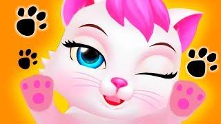 МИЛЫЙ КОТИК #2  мультик про милого котенка видео для детей Как говорящая Анжела мультик для детей