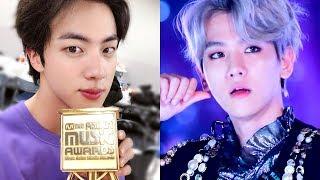 Jin Throws Shade, MAMA Deletes GOT7 and Uses EXO Crying