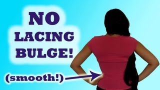 How to Hide Your Corset Laces | Lucy's Corsetry