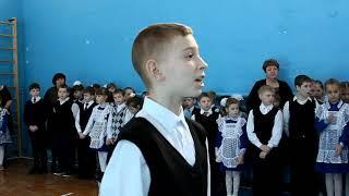 """ТНШ """"Смотр строя и песни (22.02.18г.)"""""""