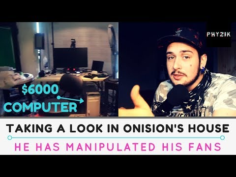 PROOF That ONISION Isn't Having Financial Problems And Has MANIPULATED His Fans - Phyzik Talks