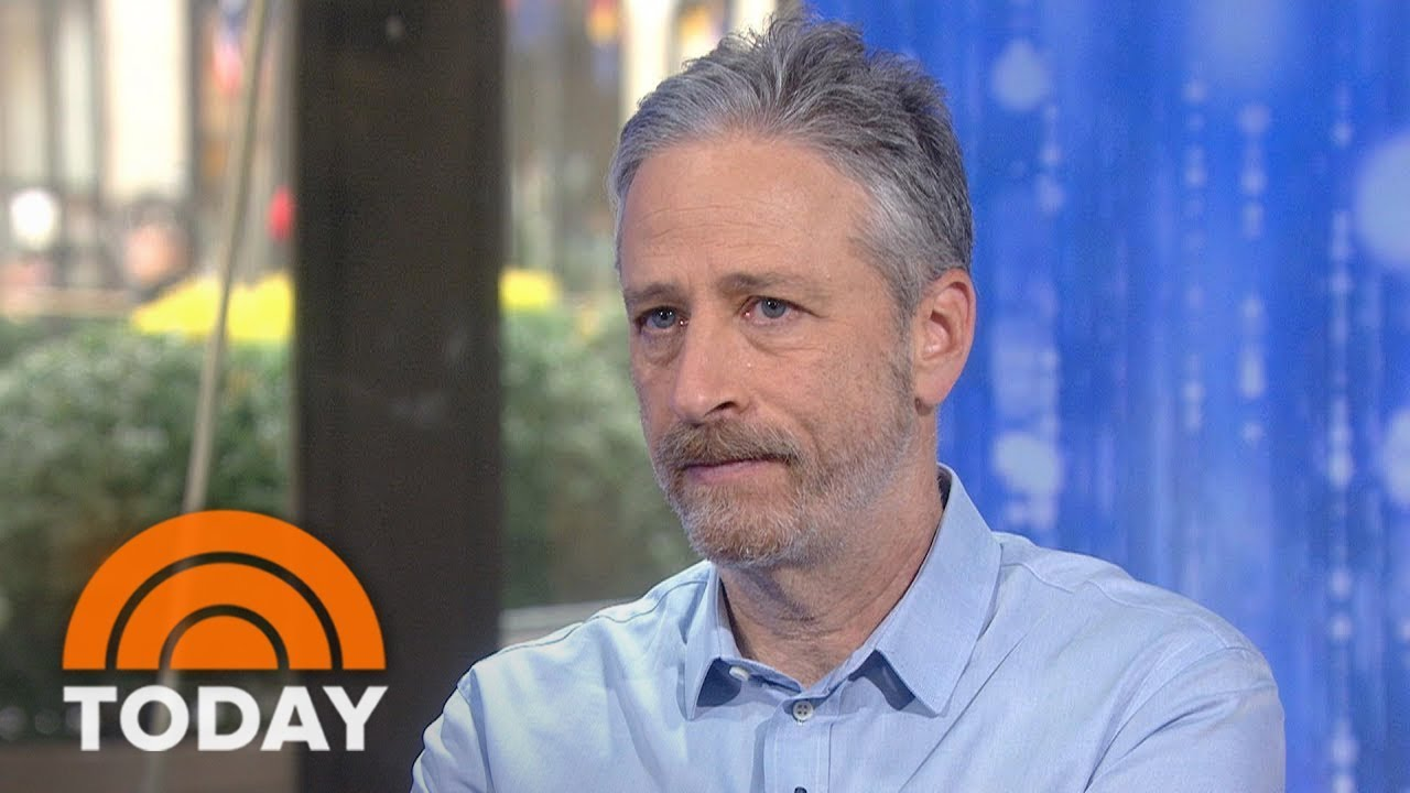 jon-stewart-and-michelle-smigel-on-hbo-s-comedy-event-night-of-too-many-stars-today